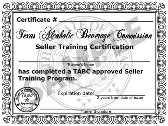 TABC Certification Program